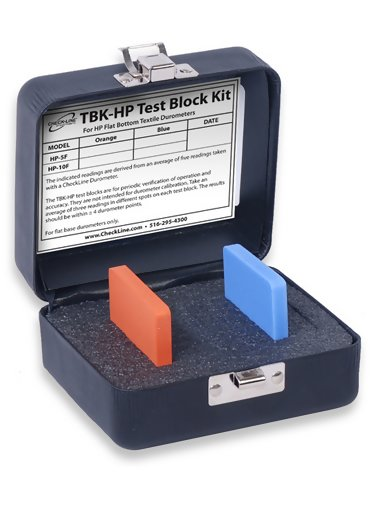 Checkline TBK-HP Test Block for HP Textile Durometers with Flat Base