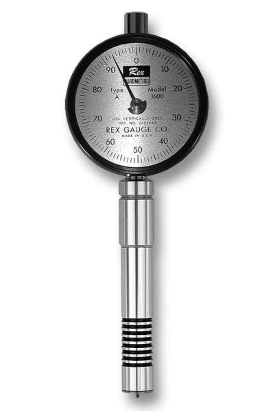 Rex 1600 Dial Shore Durometer RX-1600