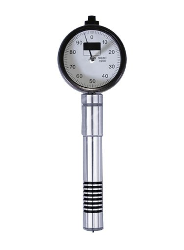 Rex RX-1000-O Type O Type O Mini Dial Durometer for soft elastomers below 20 A scale (H-1000-O)