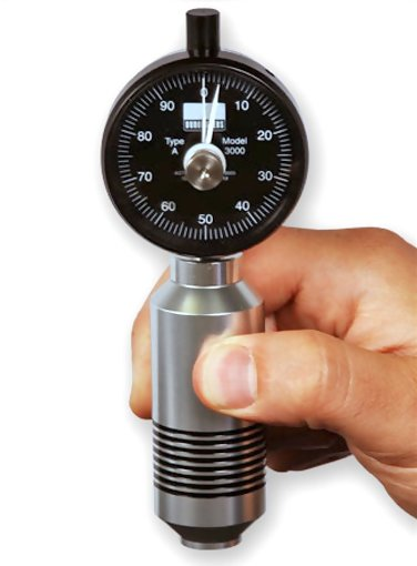 Rex RX-3000 Max Hand Durometer with 18mm Diameter Presser Foot
