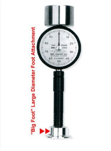 Rex RX-BF Big Foot Durometer Foot Adapter