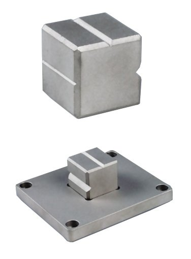 14-1352 V-Block Base Plate for O-rings and Small Samples